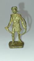 Metal Berühmte Indianer II N°  Tahrohon  Gold SCAME - Figurine In Metallo