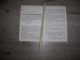 Urbaan Denblijden (Handzame 1921 - Brugge 1978);Ryckebusch;Coucke;Vanhooren - Santini