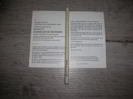 Godelieve Boysen (Handzame 1904 - Schaarbeek 1985);Corthals;Mathys;Van Hooren - Santini
