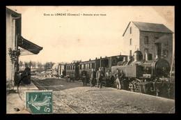 19 - LE LONZAC - ARRIVEE D'UN TRAIN EN GARE DE CHEMIN DE FER - Other Municipalities