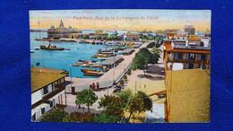 Port-Said Rue De La Compagnie Du Canal Egypt - Port Said