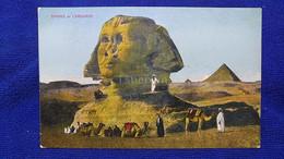 Sphinx Et Caravane Egypt - Gizeh