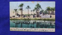 Le Caire Village Arabe Aux Pyramides Egypt - Caïro