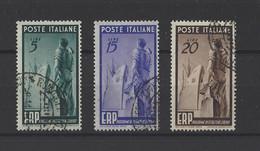 ITALIE.  YT   N° 539/541  Obl  1949 - 1946-60: Afgestempeld
