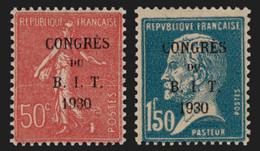 France N°264/265, Congrés Du BIT, Neufs ** Sans Charnière COTE 55€ - TB - Neufs