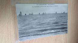 CPA -  1188. ILE D OLERON - Le Couraud, Portion De Mer Entre St Trojan Et Le Continent - Ile D'Oléron