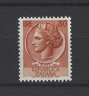 ITALIE.  YT   N° 655  Neuf *   1953 - 1946-60: Afgestempeld