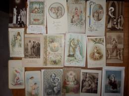 (28)  Lot De 18 Images Pieuses - Religion & Esotericism