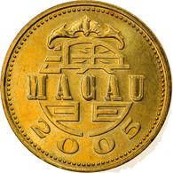 Monnaie, Macau, 10 Avos, 2005, British Royal Mint, SUP, Laiton, KM:70 - Macau