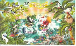 2018 Christmas Island Christmas Noel  Birds Owl Souvenir Sheet MNH @ Below Face Value - Christmas Island