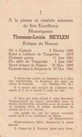 Priester, Prêtre: Evêque De Namur, Thomas Heylen, 1941, Kasterlee, Casterlé, Tongerlo - Imágenes Religiosas