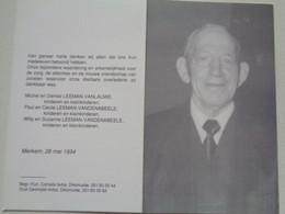 Doodsprentje/Bidprentje  Cyriel LEEMAN  Woumen 1912-1994 Ieper (Wedr Zoë Bervoet) - Religion & Esotericism