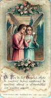 SANTINI-SANTI-MARTIRI-Ho,Pan De Lo Angele Objeto De Nuestros Deseos ,apoderao De Nuestras Almas Y Alimentadla Con Vuestr - Religion & Esotericism