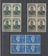 GUADELOUPE.  YT   N° 175/177  Neuf **   1944-45 - Nuovi
