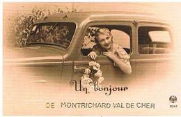 41 UN  BONJOUR  DE   MONTRICHARD  VAL  DE CHER    CPM  TBE  555 - Montrichard