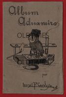 PORTUGAL - ALBUM DE 10 CARICATURAS ORIGINAIS POR LEONEL P. CARDOSO 1928 - Advertising