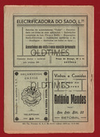 PORTUGAL - SETUBAL - GUIA DO CONGRESSO EUCARISTICO DE SETUBAL - PROGRAMA OFICIAL - PUBLICIDADES - 1941 - Advertising