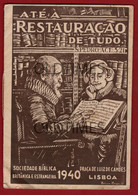 PORTUGAL - SOCIEDADE BIBLICA BRITANICA E ESTRANGEIRA - BROCHURA - 1940 - Advertising