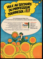 Tintin : 1 Publicité TINTIN De 1967 ( Voir Photo ). - Advertising