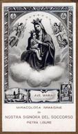 SANTINI-SANTI-MARTIRI-MIRACOLOSA IMMAGINE Di NOSTRA SIGNORA Del SOCCORSO-Pietra Ligure- - Religion & Esotericism