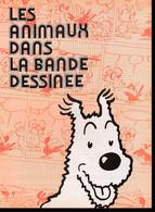"""Tintin : 1 Dossier TINTIN De 1976 """"Les Animaux Dans La Bande Dessinée Avec Milou En 1ère Page( Voir Photos ). - Advertising"""