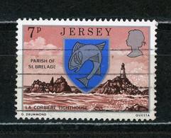 JERSEY - BLASON N° Yvert 129 Obli. - Jersey