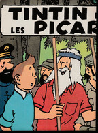 "Tintin : 1 Poster ""Tintin Et Les Picaros"" Se Présentant En Double-page ( Voir Photos ). - Advertising"