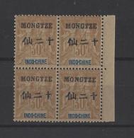 MONG-TZEU.  YT  N° 10   Neuf **   1903 - Ungebraucht