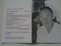 Doodsprentje/Bidprentje  Jozef DEWITTE  Egem 1937-1995 Roeselare  (Echtg Astrid VANDENDRIESSCHE) - Religion & Esotericism