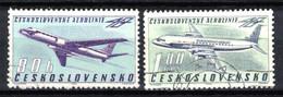 Tchécoslovaquie 1963 Mi 1405-6 (Yv PA 57-8), Obliteré - Gebraucht