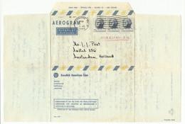U.S.A Aerogram Met 1 Zegel Afgestempeld Richmond, VA  8-jul-1965 (2952) - Covers & Documents