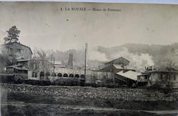 CPA.  LA ROYALE  (30) -  Mines De Fontanes - 1915 BE - Autres Communes
