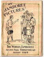 SCOOTISME . WORLD JAMBOREE ARROWE PARK BIRKENHEAD . 1929 . POCHETTE PHOTO + PELLICULES DU JAMBOREE - Otros
