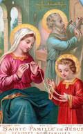 SANTINI-SANTI-MARTIRI-SAINTE FAMILLE De JESUS--Benissez Nos Familles- - Religion & Esotericism