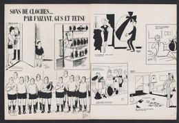 Pub Papier 1964 Double Page Humour Illustrateurs Faizant Gus Et Testu Sons De Cloches - Advertising