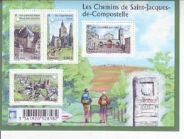 France 2013 Bloc Feuillet Les Chemins De Compostelle - Mint/Hinged