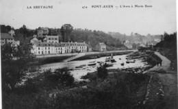 PONT-AVEN - L'Aven à Marée Basse - Pont Aven