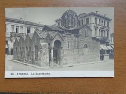 Griekenland - Greece / Athènes, La Kapnikaréa --> Written - Greece