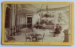 CDV Photographie Ancienne Vichy La Véranda Du Casino - Plaatsen