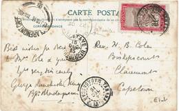 CTN70 - MADAGASCAR CPA TANANARIVE/CAPETOWN 14/12/15 TRANSIT PAR TAMATAVE 15/12/15/ÎLE MAURICE 27/12/15 ARRIVEE 13/1/1916 - Brieven En Documenten