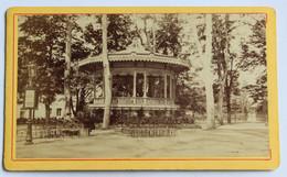CDV Photographie Ancienne Vichy Kiosque Des Concerts - Plaatsen