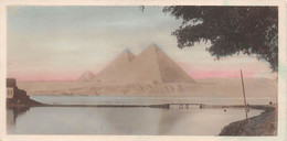 LE CAIRE   LES PYRAMIDES - Caïro