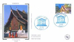 Enveloppe 1er Jour Unesco 2006, Luang Prabang, Laos, 2006 (YT S135) - 2000-2009