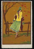 ILLUSTRATION T CORBELLA * JOLIE JEUNE FEMME * 1927 * EDIT DEGAMI * 2 SCANS * YOUNG WOMAN * JONGE VROUW - Corbella, T.