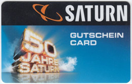 Gift Card A-233 Austria - Saturn / Electronic Store - Used - Gift Cards