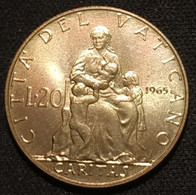 VATICAN - VATICANO - 20 LIRE 1965 - Paul VI - KM 80 - Vatican