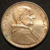 VATICAN - VATICANO - 20 LIRE 1968 - Paul VI - KM 104 - Vatican