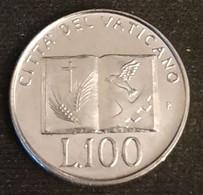 VATICAN - VATICANO - 100 LIRE 1992 - Jean Paul II - KM 239 - Vatican