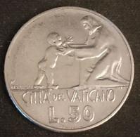 VATICAN - VATICANO - 50 LIRE 1978 - Paul VI - KM 136 - Vatican
