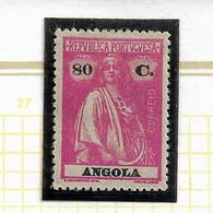 ANGOLA STAMP - 1921-22 CERES P.LISO D:15X14 Md#209 MH (LAN#145) - Angola